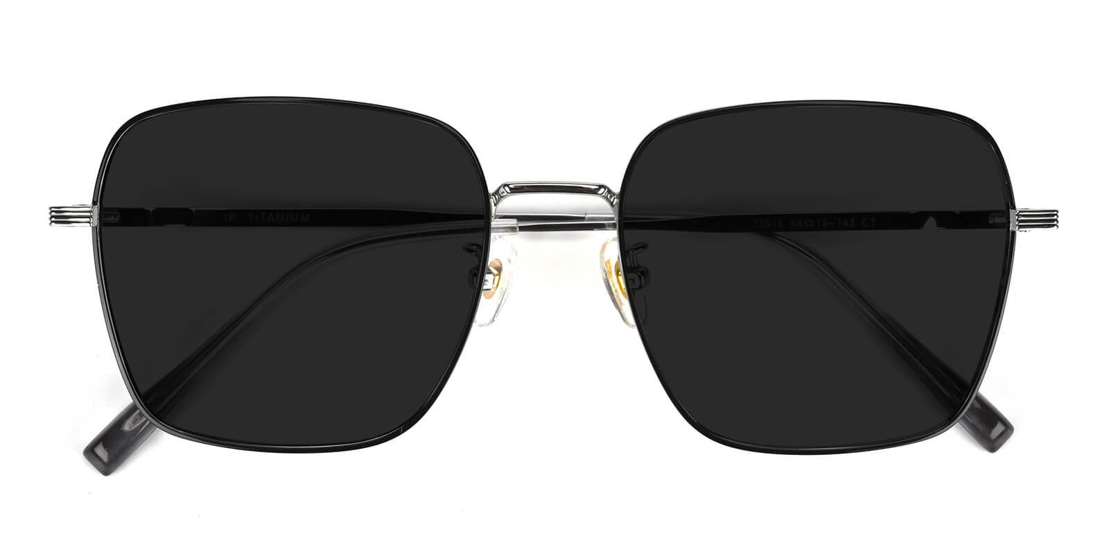 Lizzy-Black-Square-Titanium-Sunglasses-detail