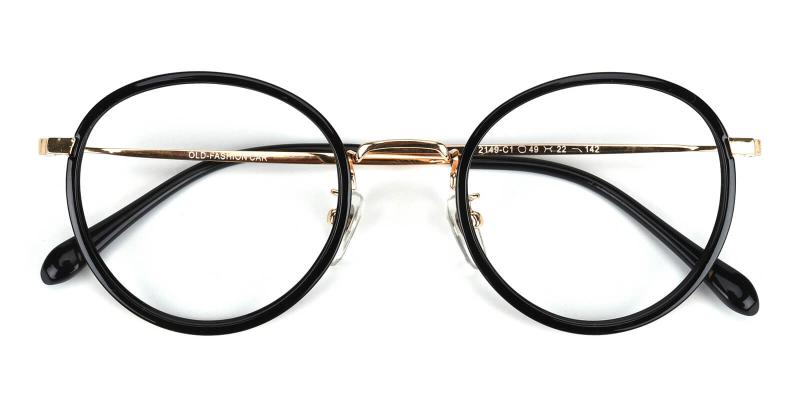Harmt-Black-Eyeglasses
