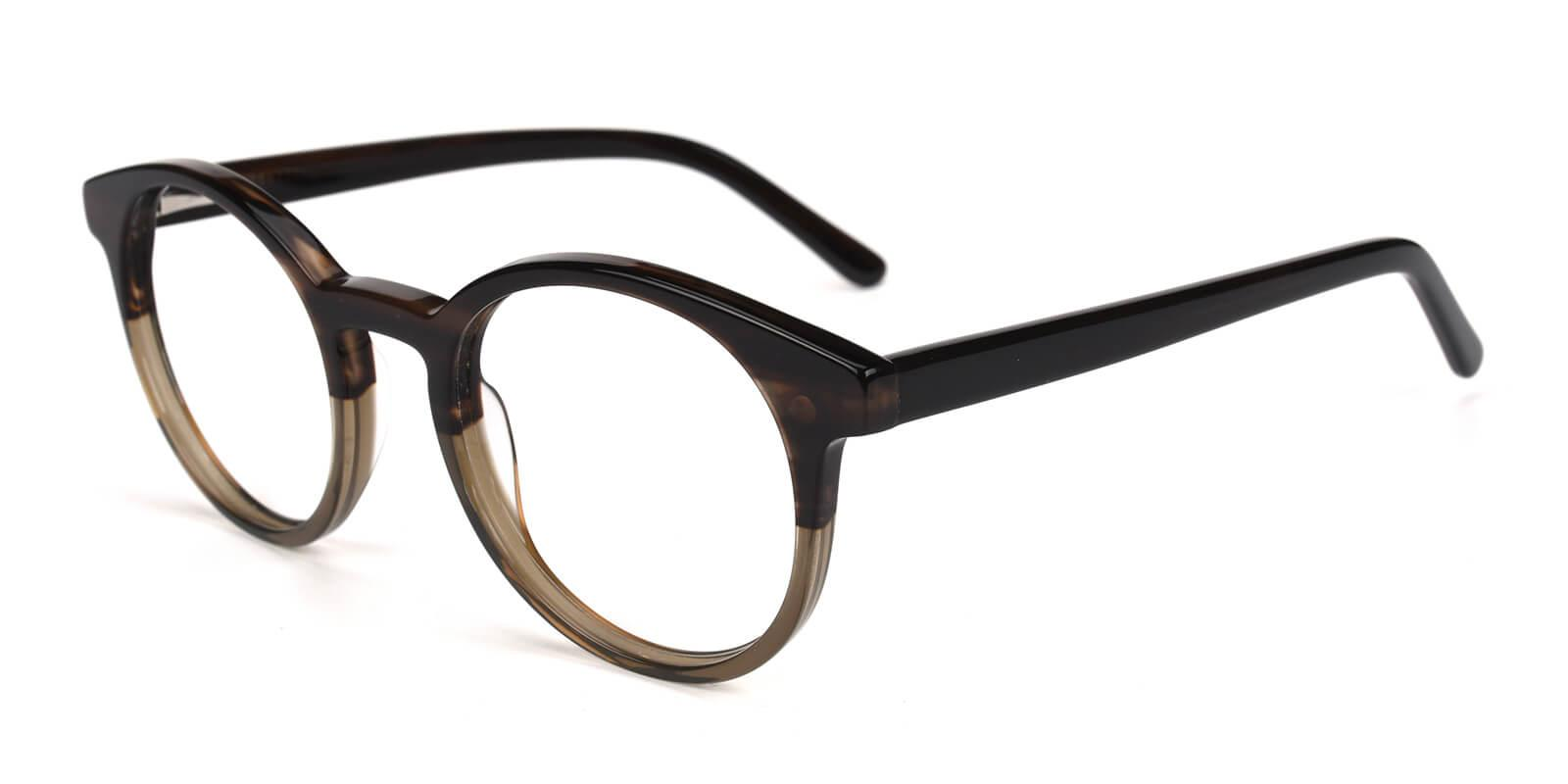 Satin-Brown-Round-Acetate-Eyeglasses-detail