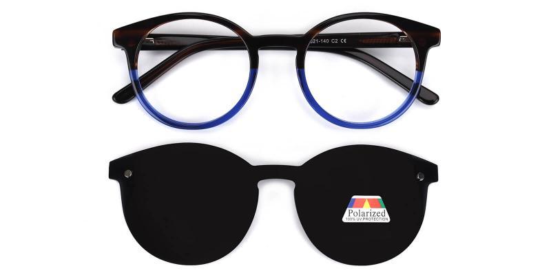 Chocolate-Multicolor-Eyeglasses