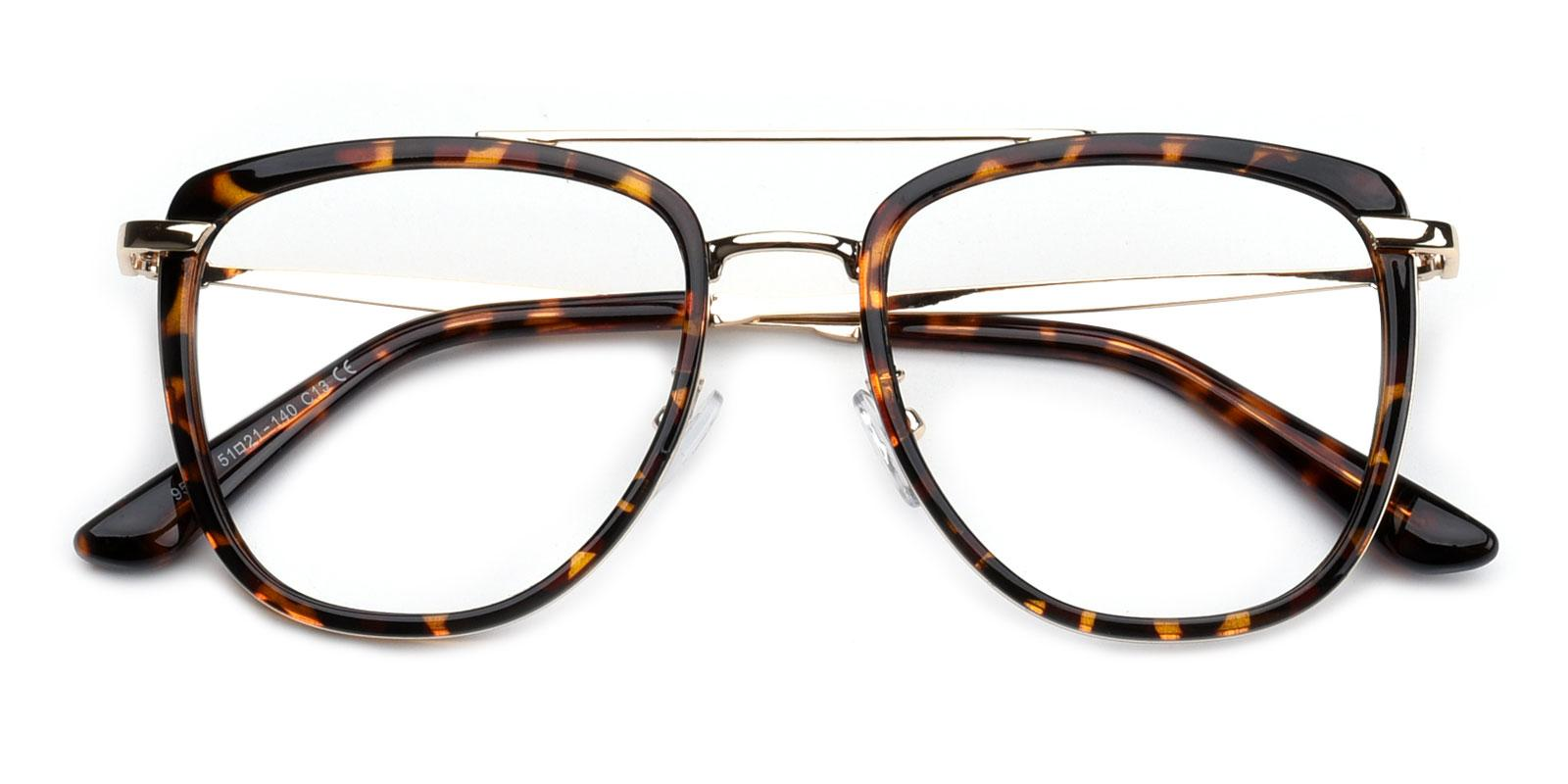 Bid-Leopard-Aviator-Combination-Eyeglasses-detail