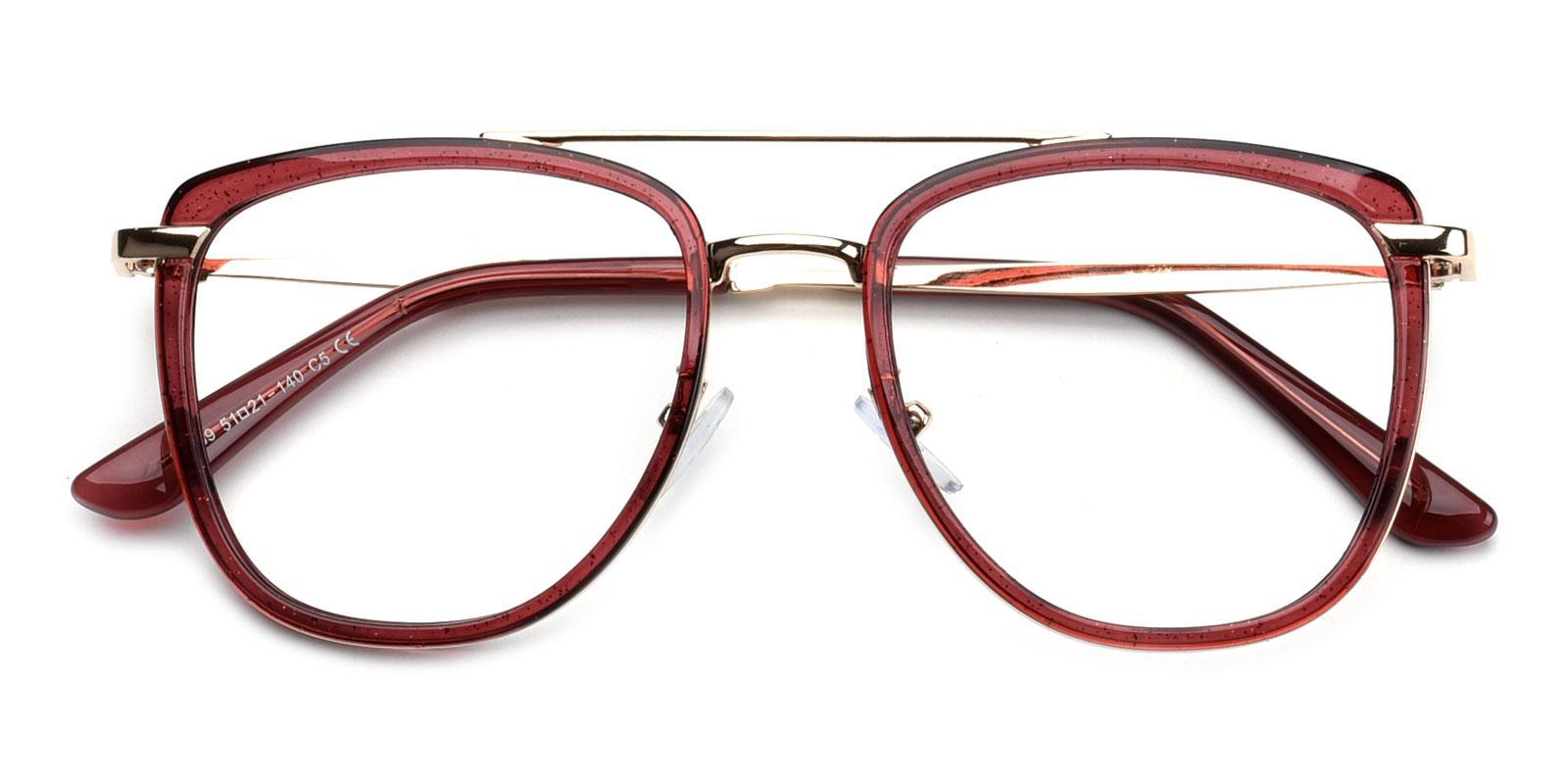 Bid-Purple-Aviator-Combination-Eyeglasses-detail