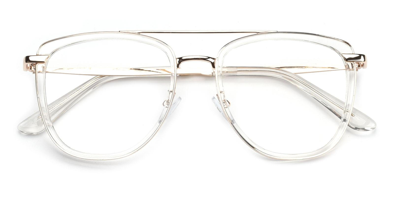 Bid-White-Aviator-Combination-Eyeglasses-detail