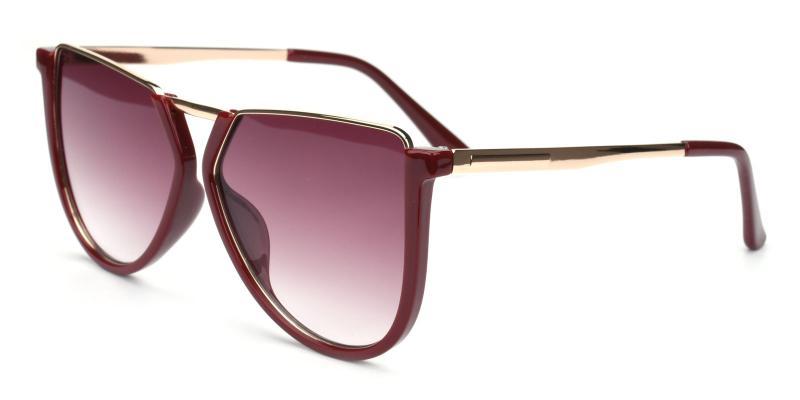 Echo-Red-Sunglasses