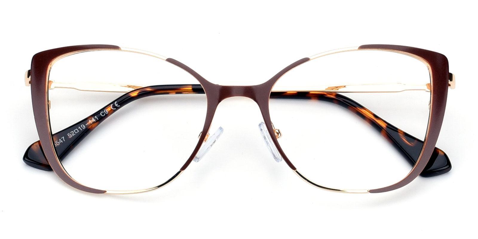 Flora-Brown-Cat-Combination-Eyeglasses-detail