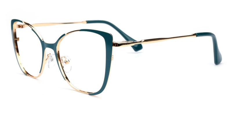 Flora-Green-Eyeglasses