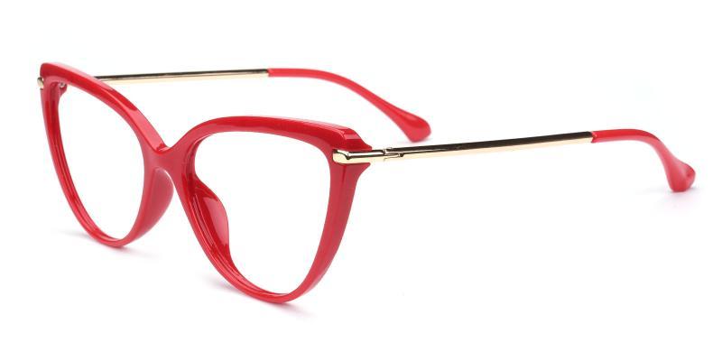 Doris-Red-Eyeglasses