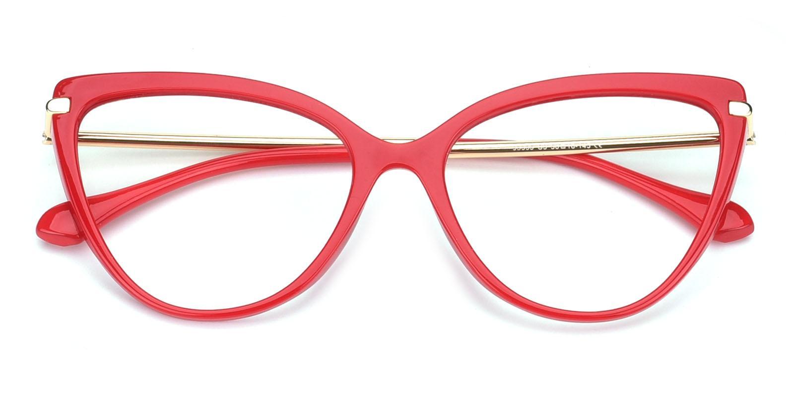 Doris-Red-Cat-Combination-Eyeglasses-detail