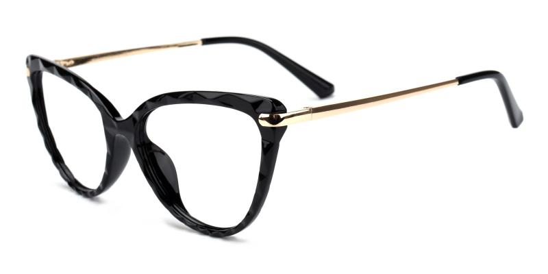 Truda-Black-Eyeglasses