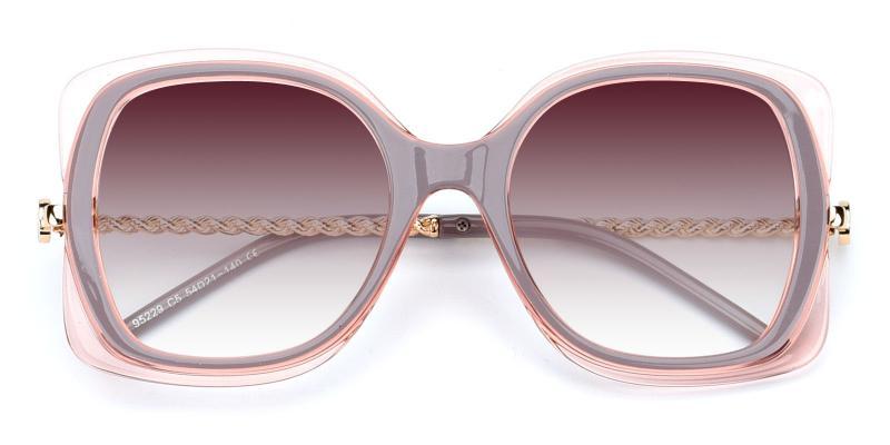 Belinda-Pink-Sunglasses