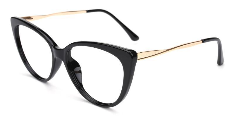 Gia-Black-Eyeglasses