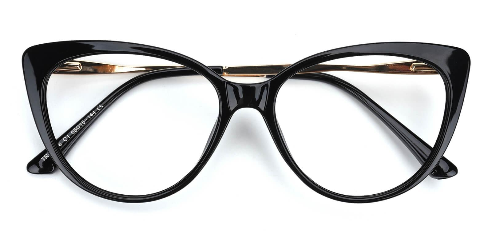 Gia-Black-Cat-TR-Eyeglasses-detail