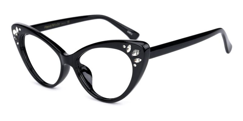 Samber-Black-Eyeglasses
