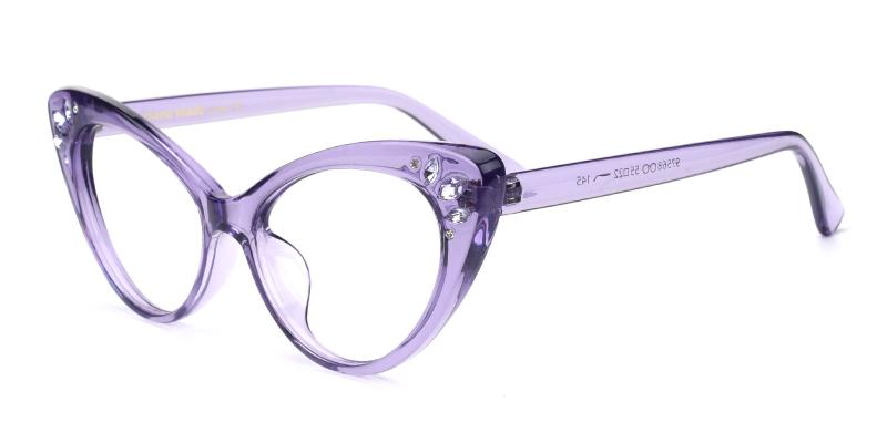 Samber-Purple-Eyeglasses