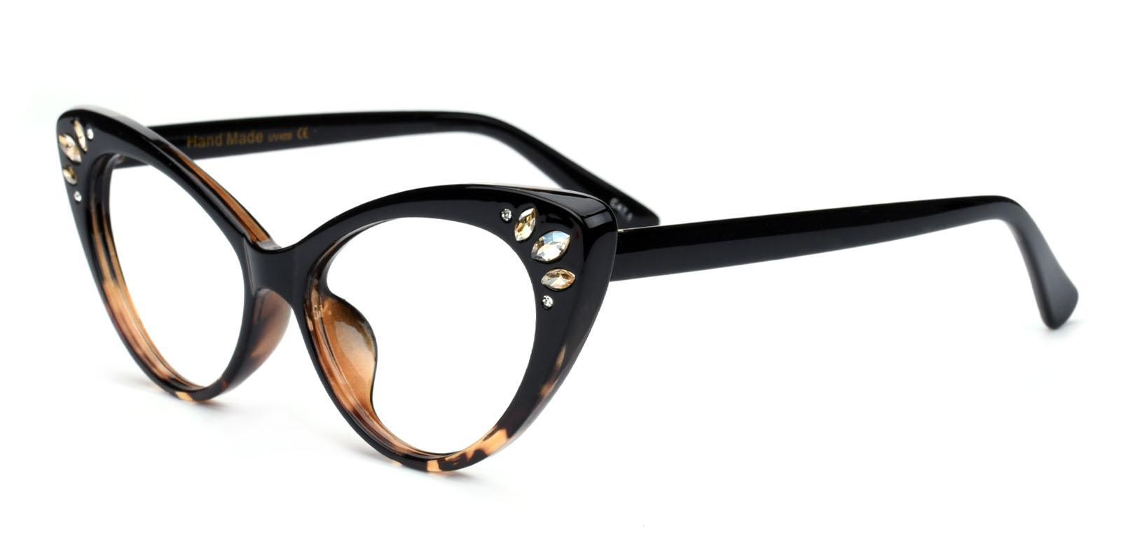Samber-Tortoise-Cat-Plastic-Eyeglasses-detail