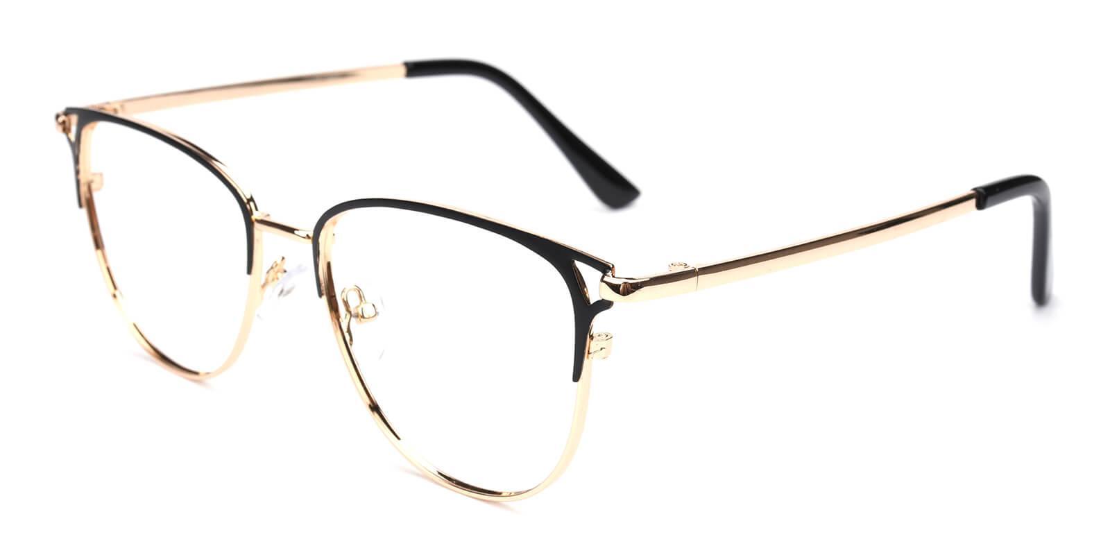 Geraldine-Black-Browline-Metal-Eyeglasses-additional1