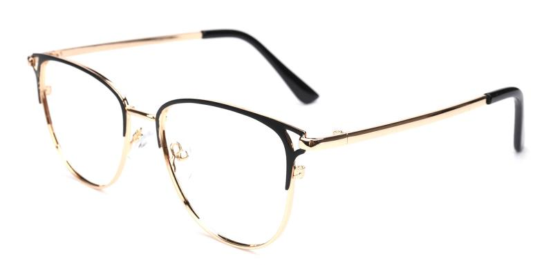 Geraldine-Black-Eyeglasses