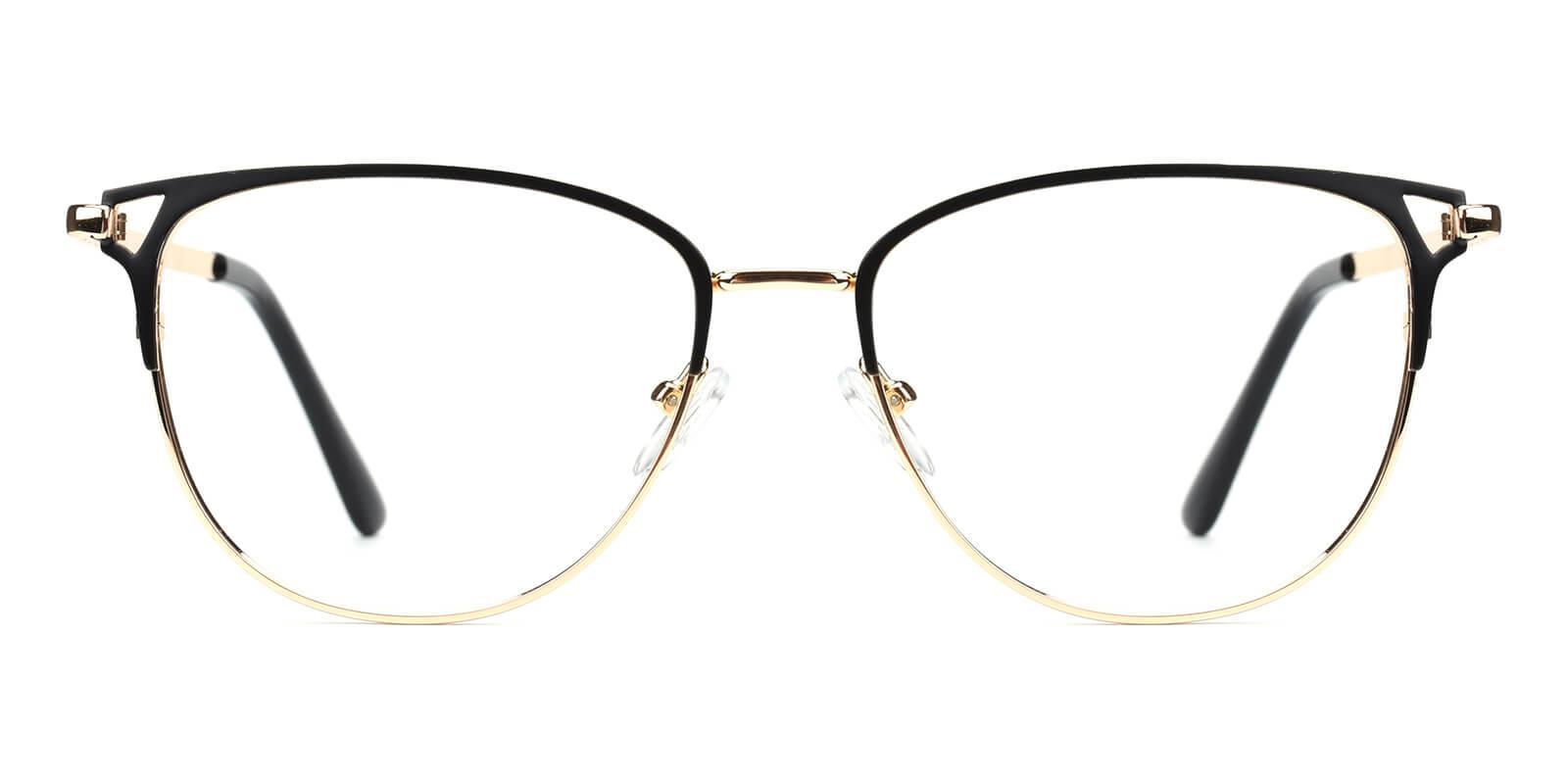 Geraldine-Black-Browline-Metal-Eyeglasses-additional2