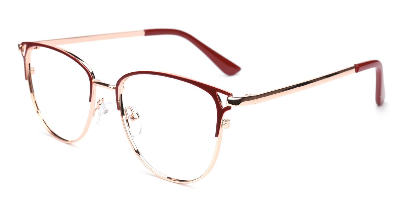 Geraldine-Red-Browline-Metal-Eyeglasses-additional1