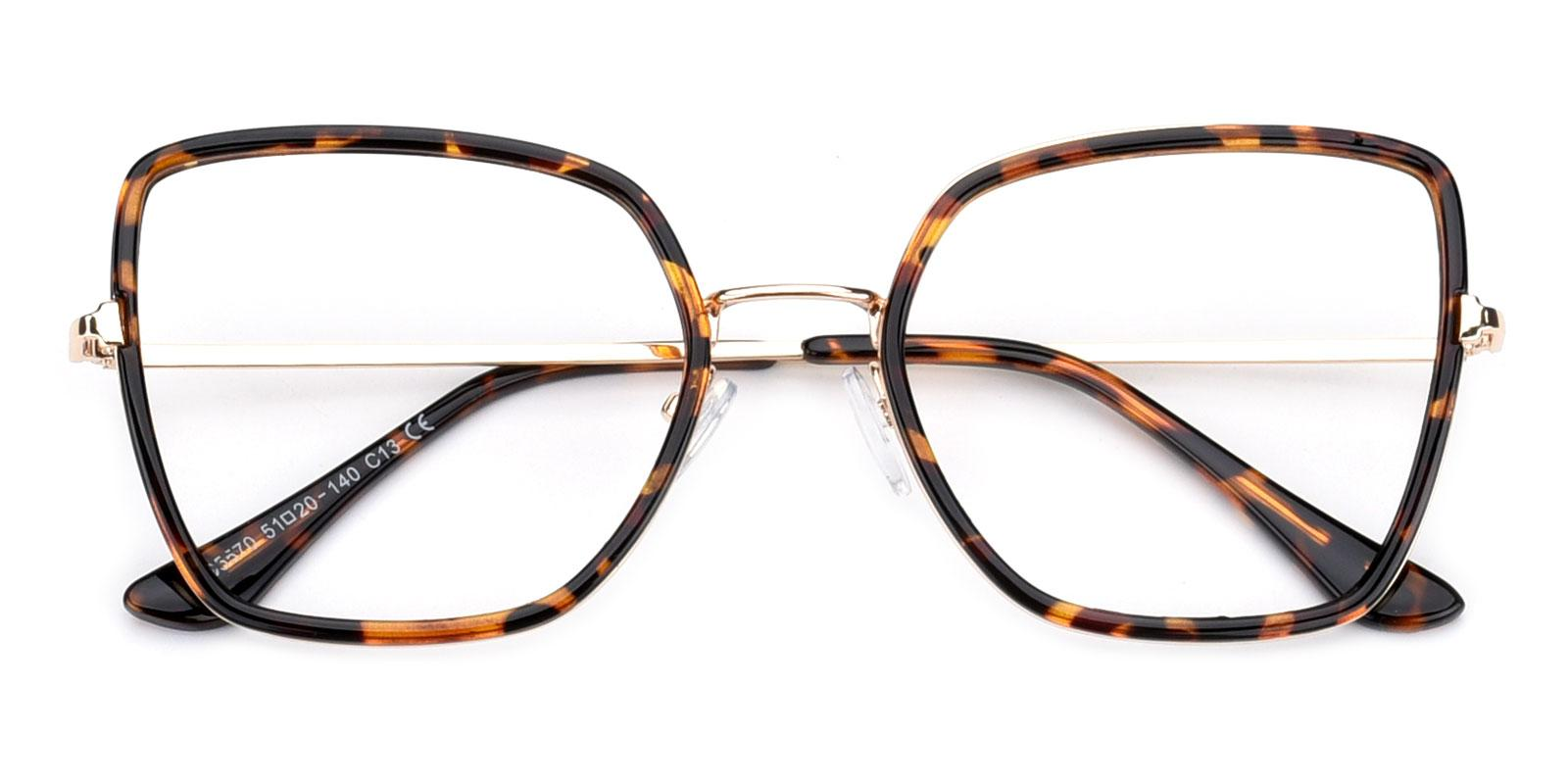 Fay-Leopard-Geometric-Combination-Eyeglasses-detail