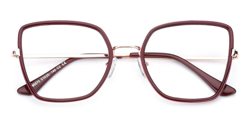 Fay-Red-Eyeglasses