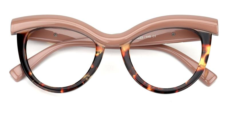 Traci-Pink-Eyeglasses