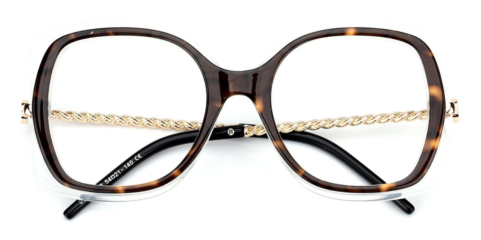 Belinda-Tortoise-Square-Plastic-Eyeglasses-detail