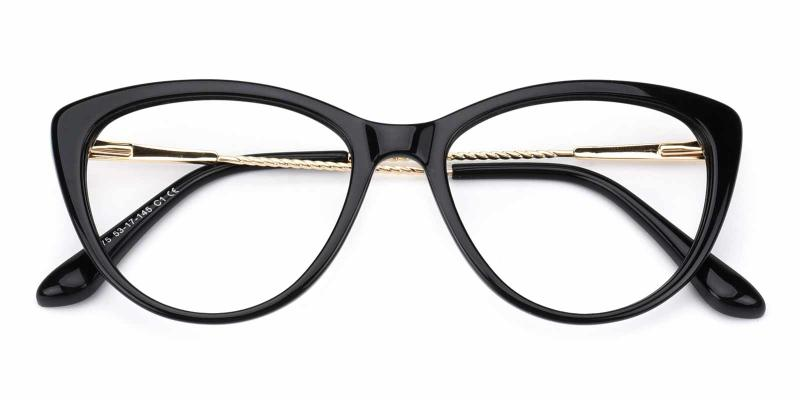 Valentine-Black-Eyeglasses