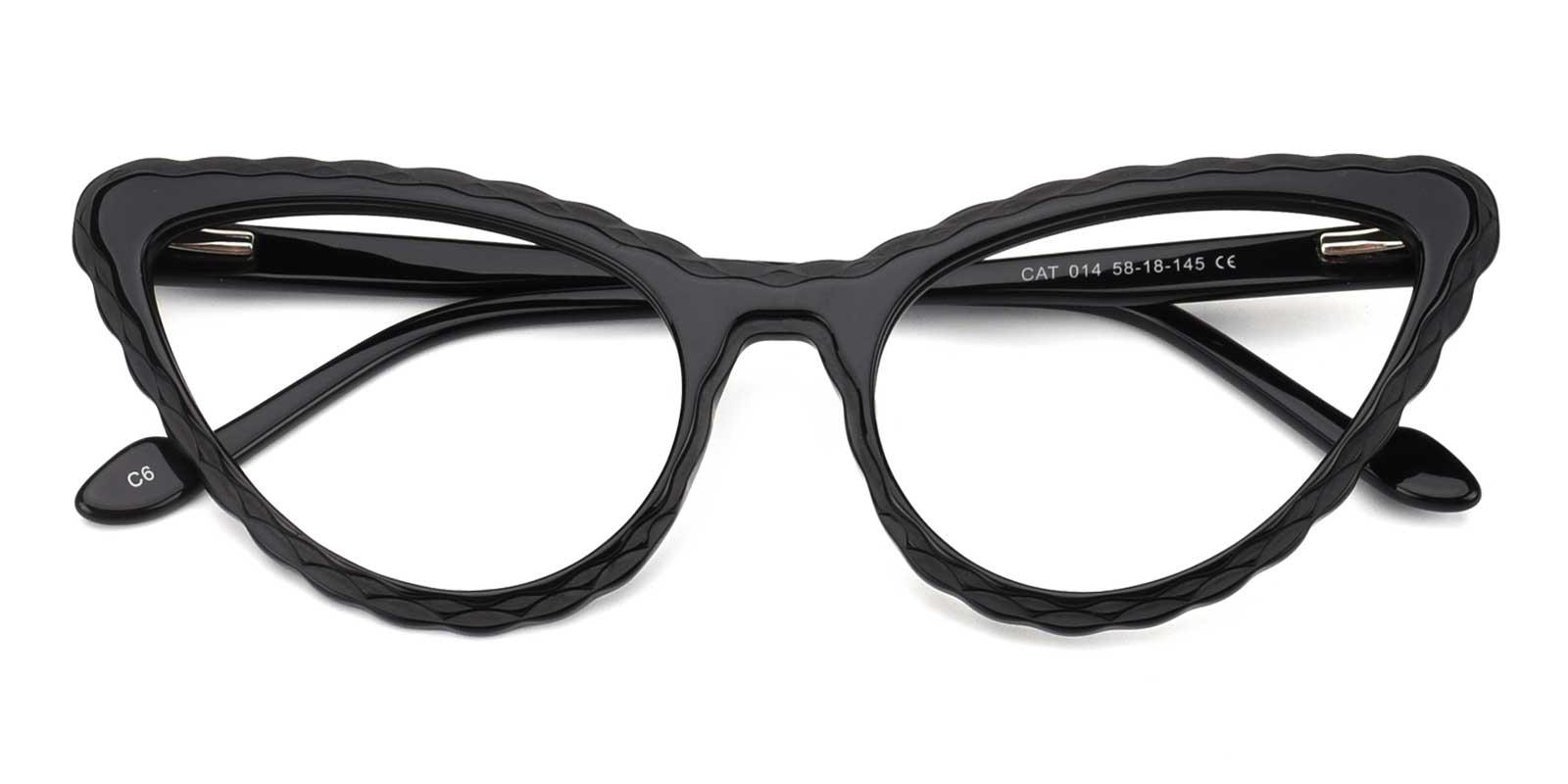 Barry-Black-Cat-Acetate-Eyeglasses-detail