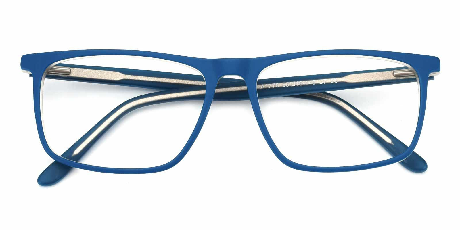 Barbar-Blue-Rectangle-Acetate-Eyeglasses-detail