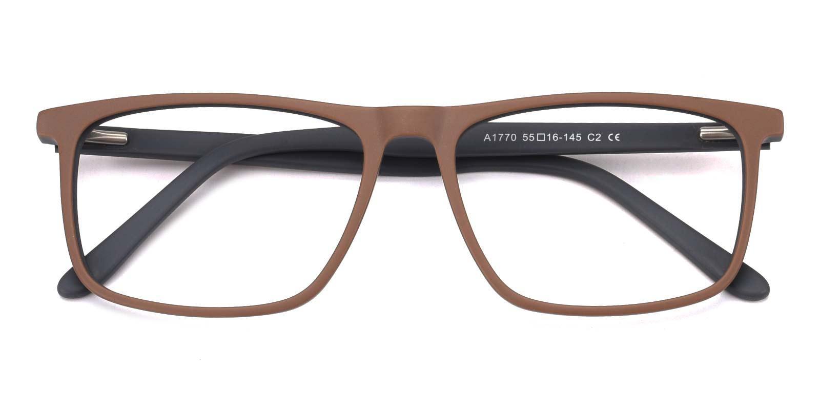 Barbar-Brown-Rectangle-Acetate-Eyeglasses-detail