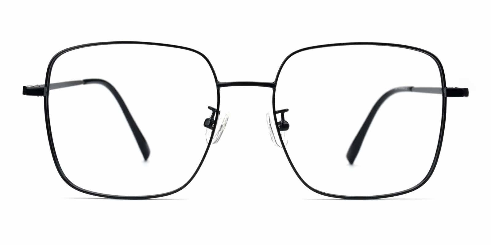 Kelly-Black-Square-Metal-Eyeglasses-detail