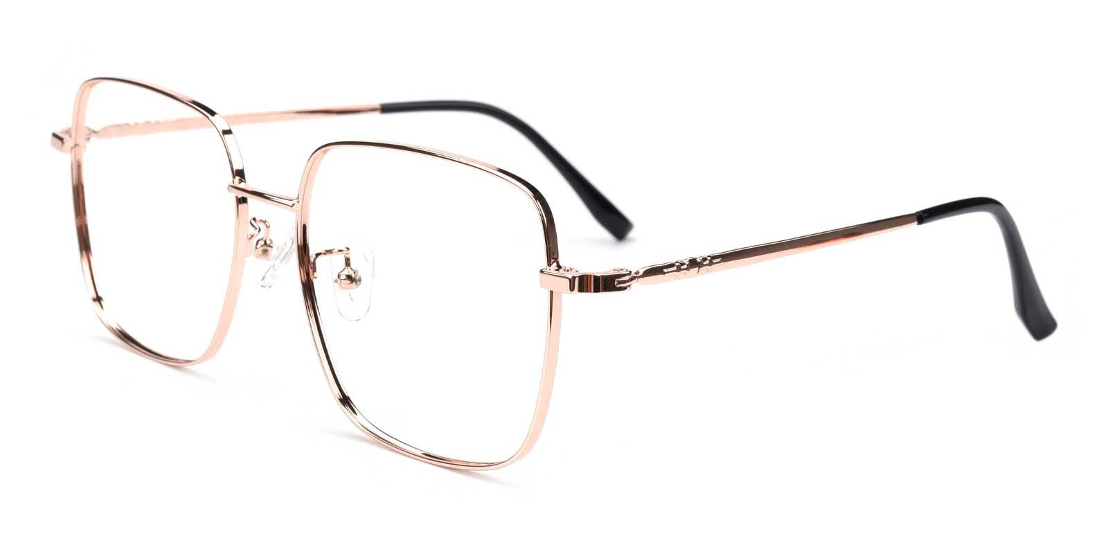 Kelly-Gold-Square-Metal-Eyeglasses-additional1
