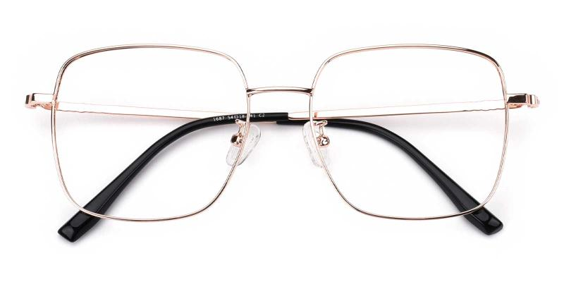 Kelly-Gold-Eyeglasses