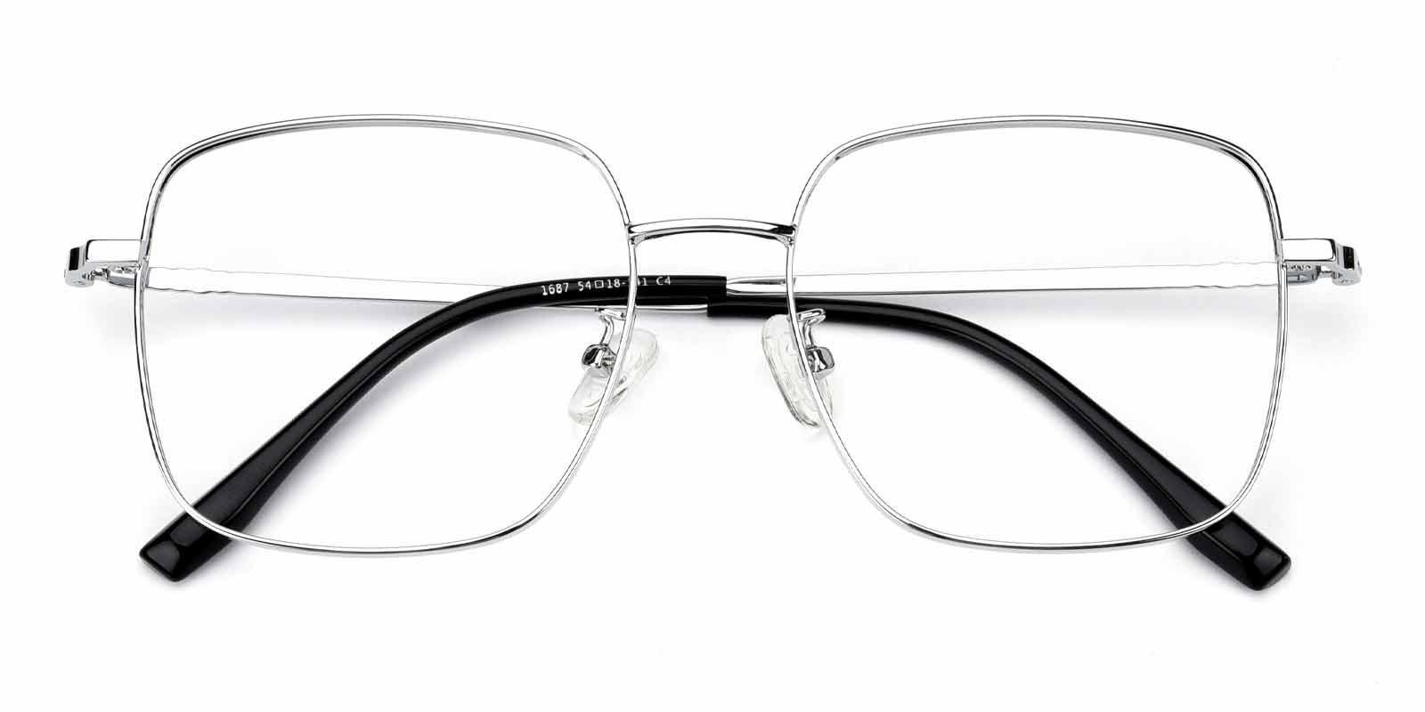 Kelly-Silver-Square-Metal-Eyeglasses-detail