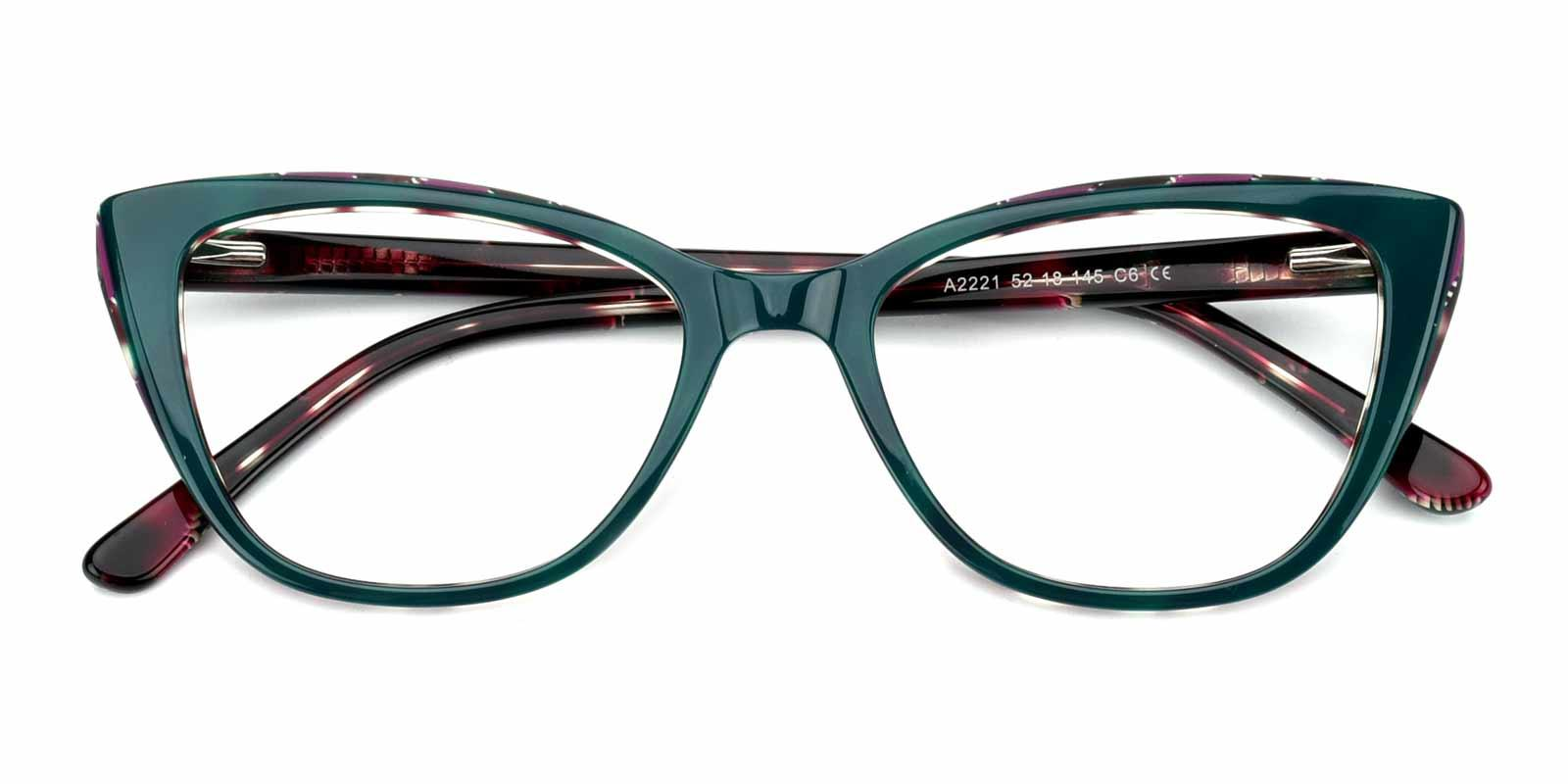 Amy-Green-Cat-Acetate-Eyeglasses-detail