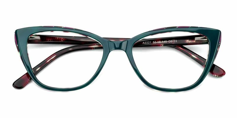 Amy-Green-Eyeglasses