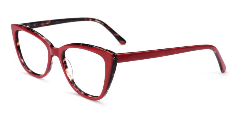 Amy-Red-Eyeglasses
