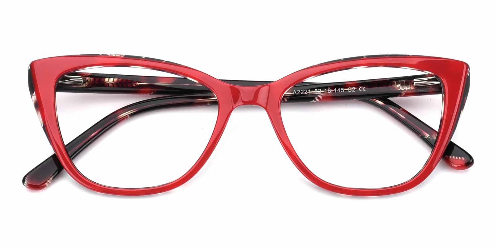 Amy-Red-Cat-Acetate-Eyeglasses-detail