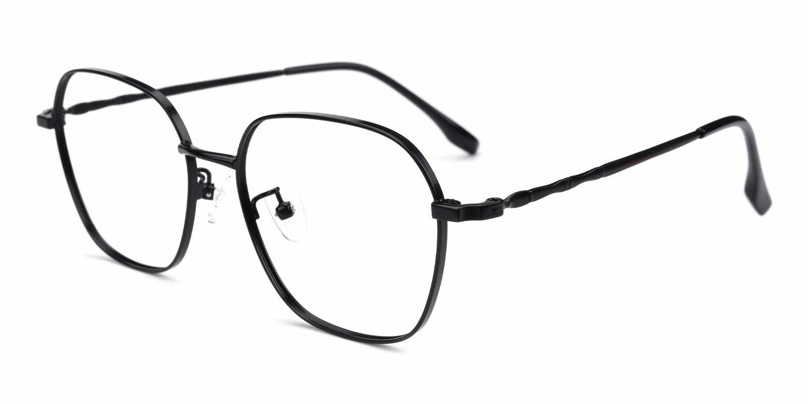 Aidan-Black-Square-Metal-Eyeglasses-additional1