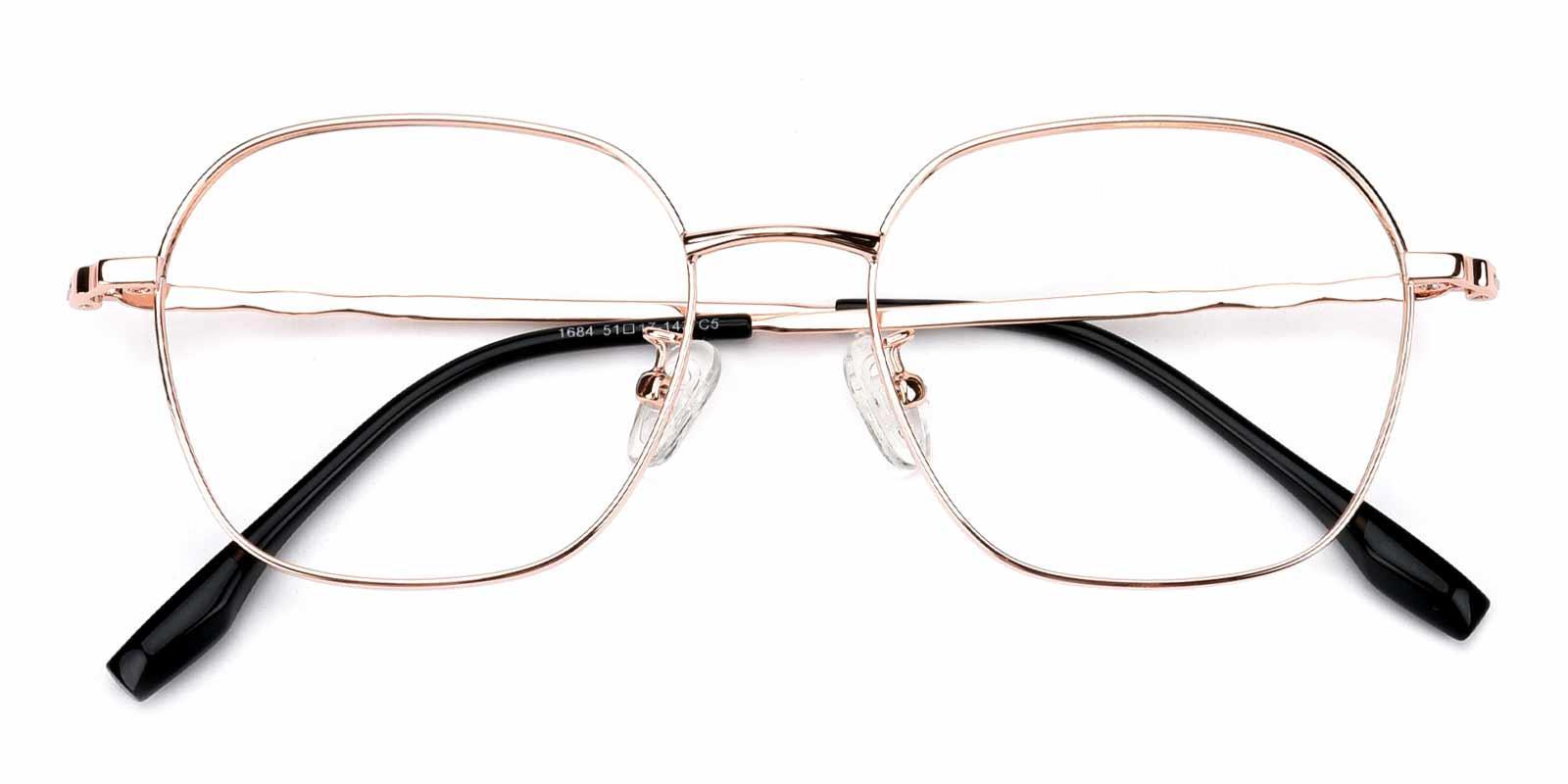 Aidan-Gold-Square-Metal-Eyeglasses-detail