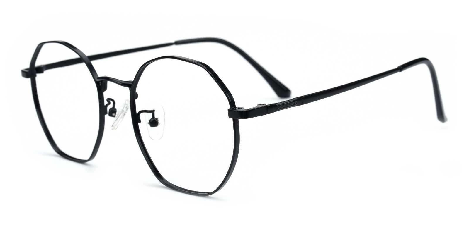 Loren-Black-Geometric-Metal-Eyeglasses-additional1