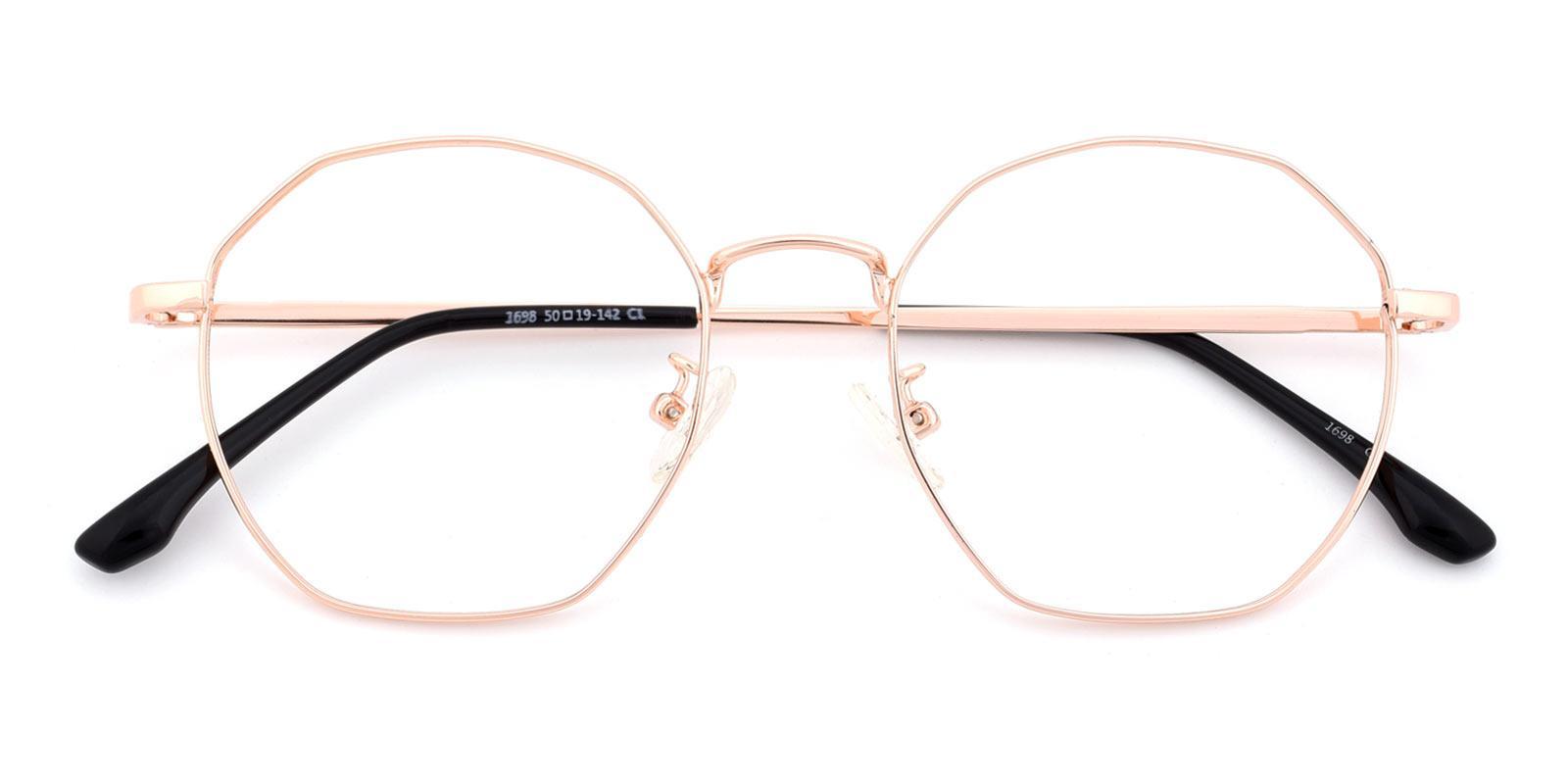 Loren-Gold-Geometric-Metal-Eyeglasses-detail