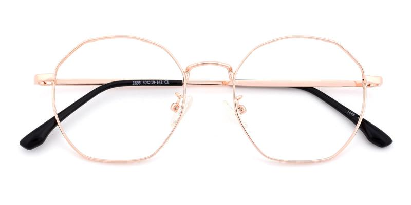 Loren-Gold-Eyeglasses