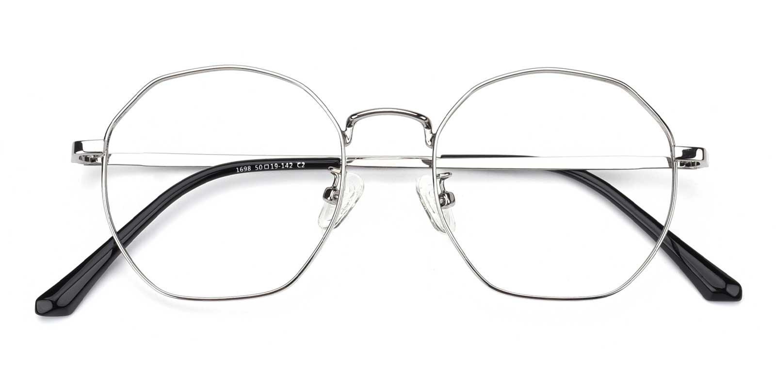 Loren-Silver-Geometric-Metal-Eyeglasses-detail