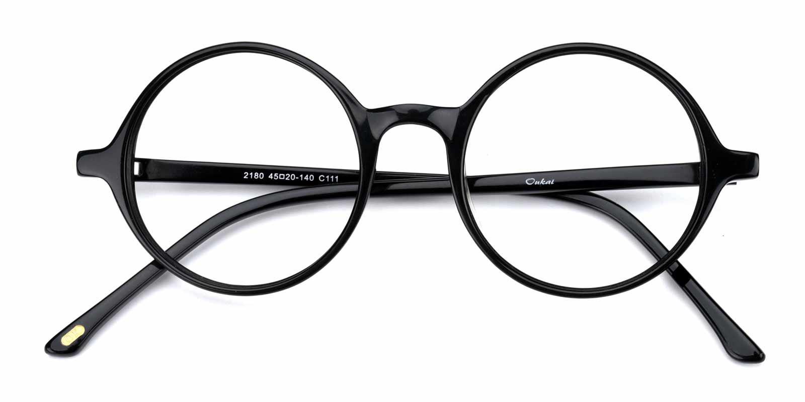 Alex-Black-Round-Acetate-Eyeglasses-detail