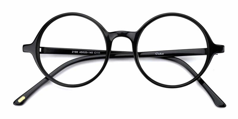 Alex-Black-Eyeglasses