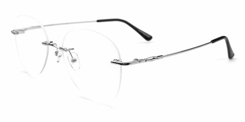 Abbet-Silver-Eyeglasses