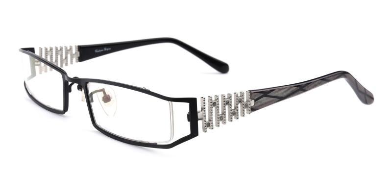 Akili-Black-Eyeglasses