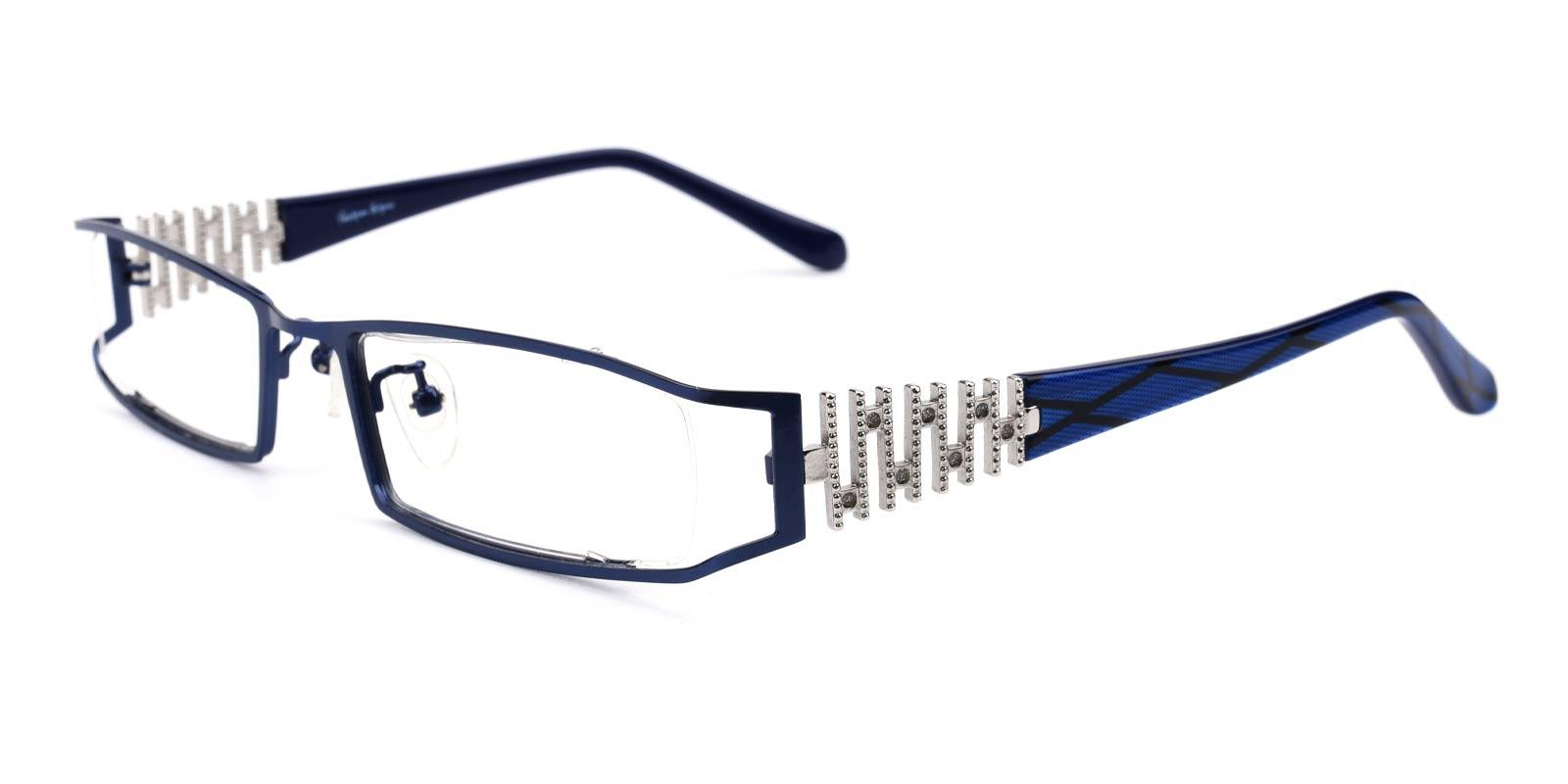 Akili-Blue-Rectangle-Metal-Eyeglasses-additional1